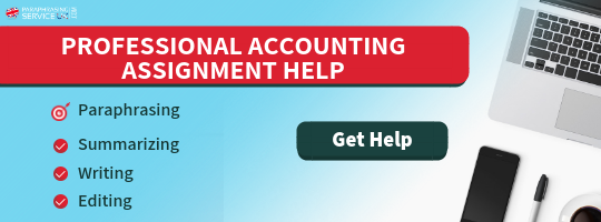 quality accounting assignment help uk