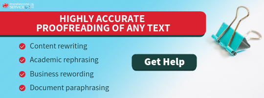 professional proofreading uk services