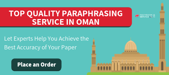 reliable paraphrase online service in oman