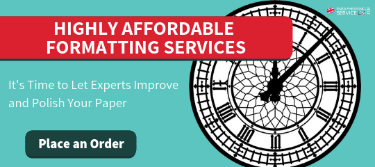 the most often used formatting service uk