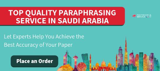 paraphrasing online saudi arabia online
