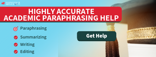 the best academic paraphrasing service uk