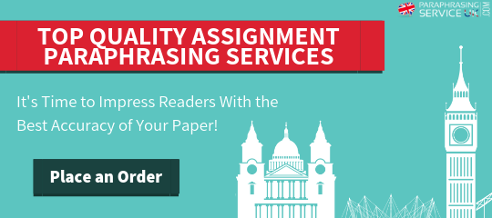 assignment paraphrasing services uk