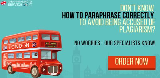 paraphrasing service