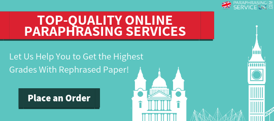 reliable online paraphrasing service uk