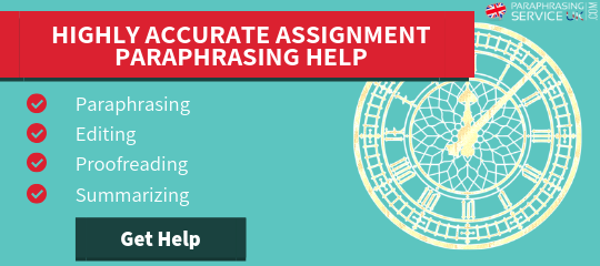 summarising and paraphrasing help
